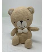 "Canal Co Organic Bear & Friends Plush Rattle Teddy Bear 8"" Tall Soft Stu... - $11.49"