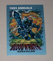 CHASE (PROMO): Marvel Annuals 1993 Blood Wraith - $1.25