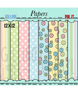 Baby Shower Papers - $1.35