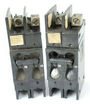 LOT OF 2 AIRPAK 209-2-1-61F-3-2-15 CIRCUIT BREAKERS 15 AMPS