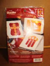 Bucilla SPIRIT OF CHRISTMAS Felt Embroidery Card Kit - Makes 3 - $9.95