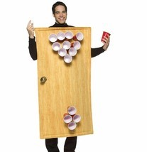 RASTA IMPOSTA BEER PONG BEIRUT COMICAL ADULT HALLOWEEN COSTUME MEN SIZE ... - $41.96