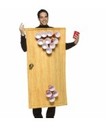 RASTA IMPOSTA BEER PONG BEIRUT COMICAL ADULT HALLOWEEN COSTUME MEN SIZE ... - $41.96