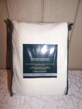 $160.00 Lauren Ralph Lauren Egyptian Cotton Full/ Queen Blanket,Cream-di... - $74.25