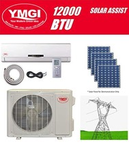 YMGI Ductless Mini Split Air Conditioner 12000 BTU up to 32 SEER Solar Assist Hy