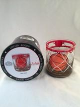 "Lolita ""Slam Dunk"" Basketball 11-oz Rocks Glass Handpainted w/Recipe & Box - €13,13 EUR"