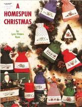 Graph It Arts A HOMESPUN CHRISTMAS Cross Stitch Leaflet Pattern - $4.00
