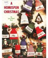 Graph It Arts A HOMESPUN CHRISTMAS Cross Stitch Leaflet Pattern - $4.00