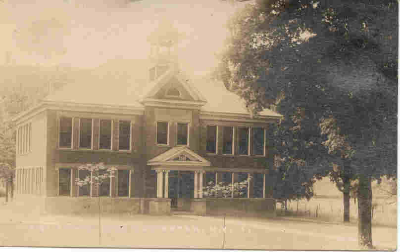 High School East Rochester New York vintage 1927 Post Card