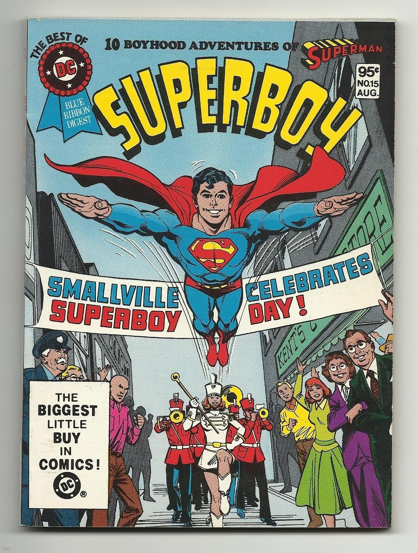 Best of DC Blue Ribbon Digest #15 - Superboy Wally Wood art (inks)