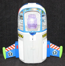 Disney Toy Story Buzz Lightyear SpaceshipTalking Command Center Electronic 2011 - $89.09