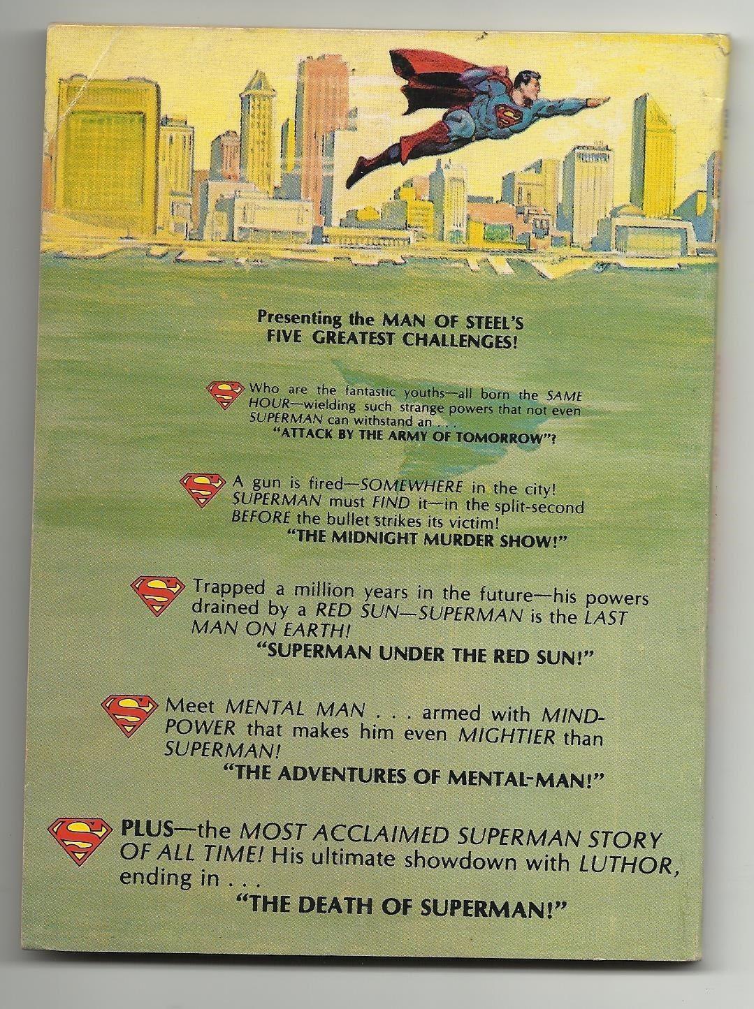 "Best of DC Blue Ribbon Digest #1 - Superman ""The Death of Superman"" image 2"