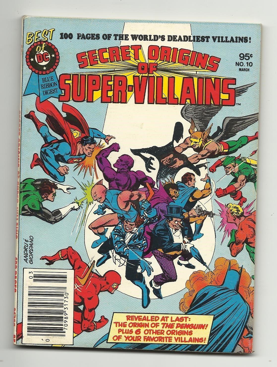 Best of DC Blue Ribbon Digest #10 - 1st ever origin of the Penguin Batman & MORE