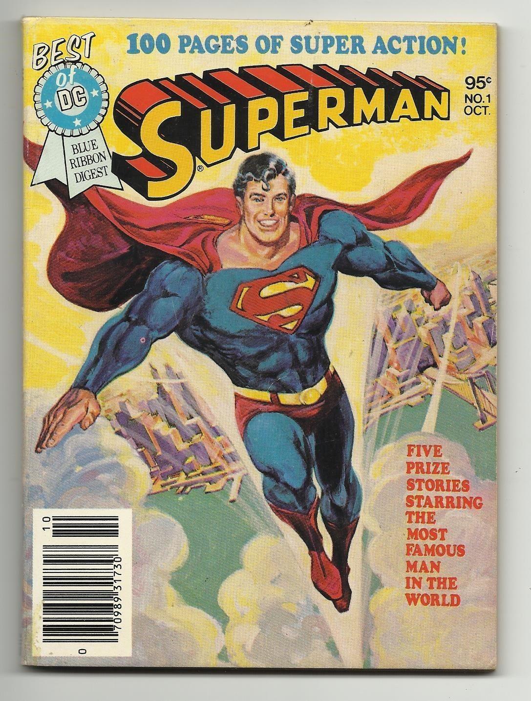 "Best of DC Blue Ribbon Digest #1 - Superman ""The Death of Superman"""