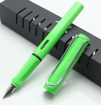 Lamy Safari Green Color Fountain Pen + Roller Ball Pen  for choose - $13.09+