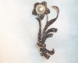 Marcasite mop flower pin thumb155 crop