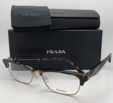 New PRADA Eyeglasses VPR 56R 2AU-1O1 53-16 140 Tortoise & Gold Titanium ... - $239.95