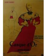 Casque d'Or (Golden Helmet) - Simone Signoret (French) - Movie Poster Framed Pic - £24.90 GBP