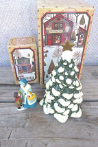 Pre-owned Avon Country Christmas McConnells Corners 1982 Town Tree Shopp... - $24.74