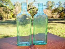 Two 1920s Era Dr. Mc Elrees 10 Oz. Cardui Medicine Bottle/ Vintage Colle... - $8.89