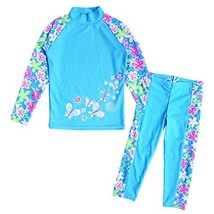 BAOHULU Girls Swimsuit UPF 50+ UV Protective 3-12 Years 3-4YTag.No 4A, B... - $25.19