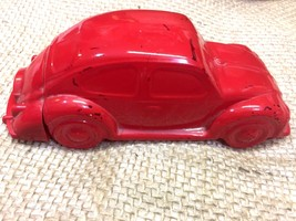 Vintage AVON Red Volkswagen OLand After Shave Collectible Perfume glass ... - $7.69