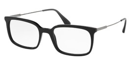 Prada Eyeglasses PR-16UVF-1AB1O1-55 Size 55mm/19mm/150mm Brand New W Case - $134.32