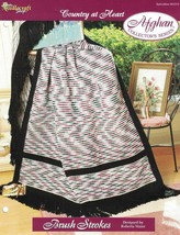 Brush Strokes Country at Heart Afghan Pattern The Needlecraft Shop TNS - $3.46