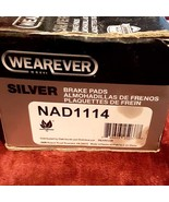Wearever Silver Organic REAR Brake Pads, No. NAD1114 (4-Pad Set), NEW in... - $26.99