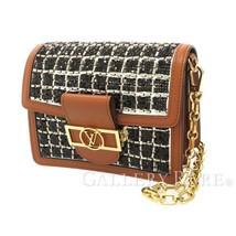 LOUIS VUITTON Mini Dauphine Calf Leather Beads Shoulder Bag M53777 Authentic - $7,278.10