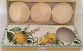 Saponificio Artigianale Fiorentino Lemon & Basil  Italian Soap, box of 3... - $22.20