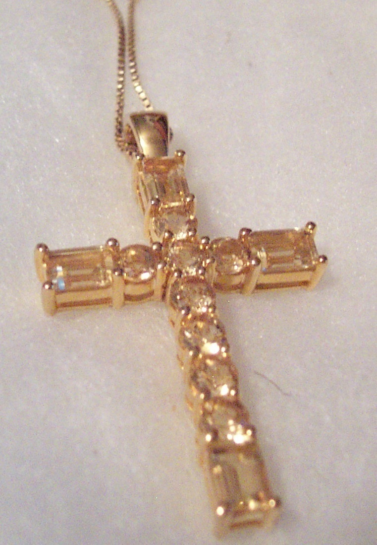 Citrine large cross