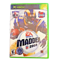 Madden Xbox NFL 2003 EA Sport Video Game Football The Best Gets Better Microsoft - $3.07