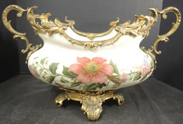 Elegant Mt Washington Crown Milano Dore Bronze Ormolu Mounted Console Bowl - $1,804.99