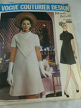 Vogue Couturier 2205 Sewing Pattern Dress Belinda Bellville of London sz... - $38.60