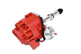 SB Small Block Buick HEI Distributor SBB Red Cap 65K VOLT COIL 215 340 350 image 2