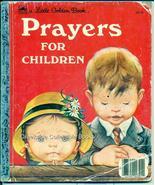 Little Golden Book Prayers For Children1974 301-9 - $6.99