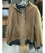 Dickies Lined Coat, Mens, Hooded, 2XL - $65.00