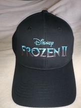 Disney Frozen II Adult Baseball Hat Black Cap New Adjustable 100% Cotton - $14.99