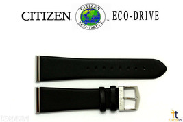 Citizen Eco-Drive BL6006-08E 23mm Black Leather Smooth LONG Band BL6005-01E - $65.65