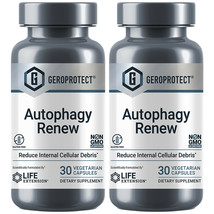 Life Extension Geroprotect Autophagy Renew Longevity AMPK cellular energy 2X30 - $36.08