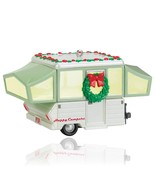 Happy Campers 2015 Hallmark Ornament Camping Tent Camper Camp Christmas ... - $49.49