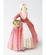 """"""" Janet """" Dipinto a Mano Royal Doulton Statuina di Porcellana #HN1537 Great - $177.30"""