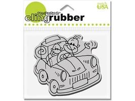 Stampendous Changito Driver Rubber Cling Stamp #CRV172