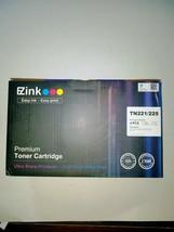 TN221/225 Premium Toner By  EZink, 4 Pack B,C,M,Y, - $25.00