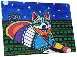 "Pingo World 0708QAZTBEM ""Heather Galler American Eskimo Dog"" Gallery Wra... - $53.41"
