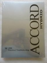 Q New 2006 Honda Accord Hybrid Electrical Troubleshooting Service Manual... - $12.88