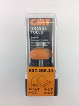 "CMT 837.286.11 Cove Router Bit, 1/4"" Shank, 3/8"" Radius,  Made in Italy - $25.14"