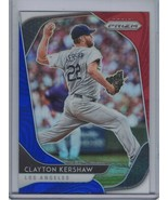 CLAYTON KERSHAW 2020 Panini Prizm Prizms Red White and Blue #43 E4517 - $2.25