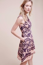 NWT ANTHROPOLOGIE COUR ROYAL V-NECK DRESS by MAEVE 6P - $99.99